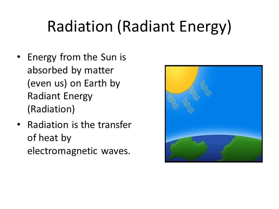 Radiation (Radiant Energy)