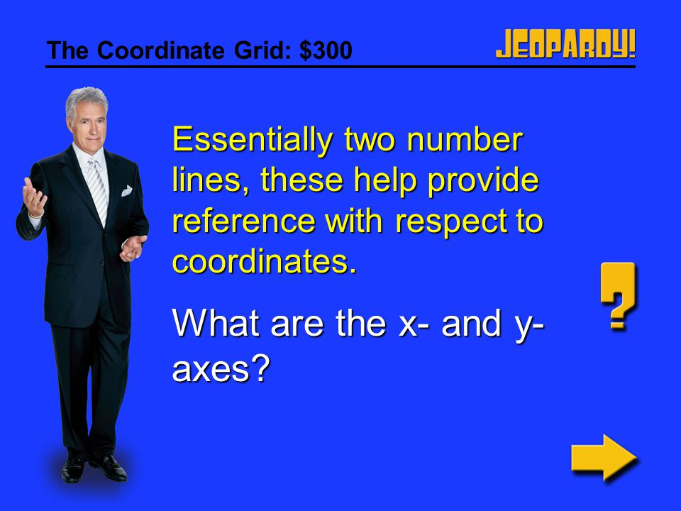 What are the x- and y-axes