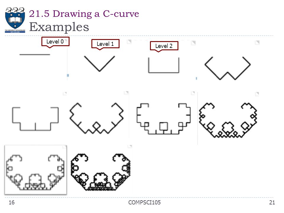 21.5 Drawing a C-curve Examples