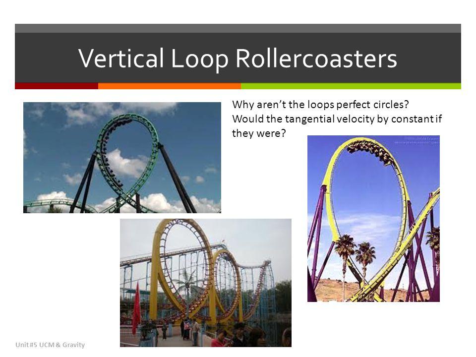 Vertical Loop Rollercoasters