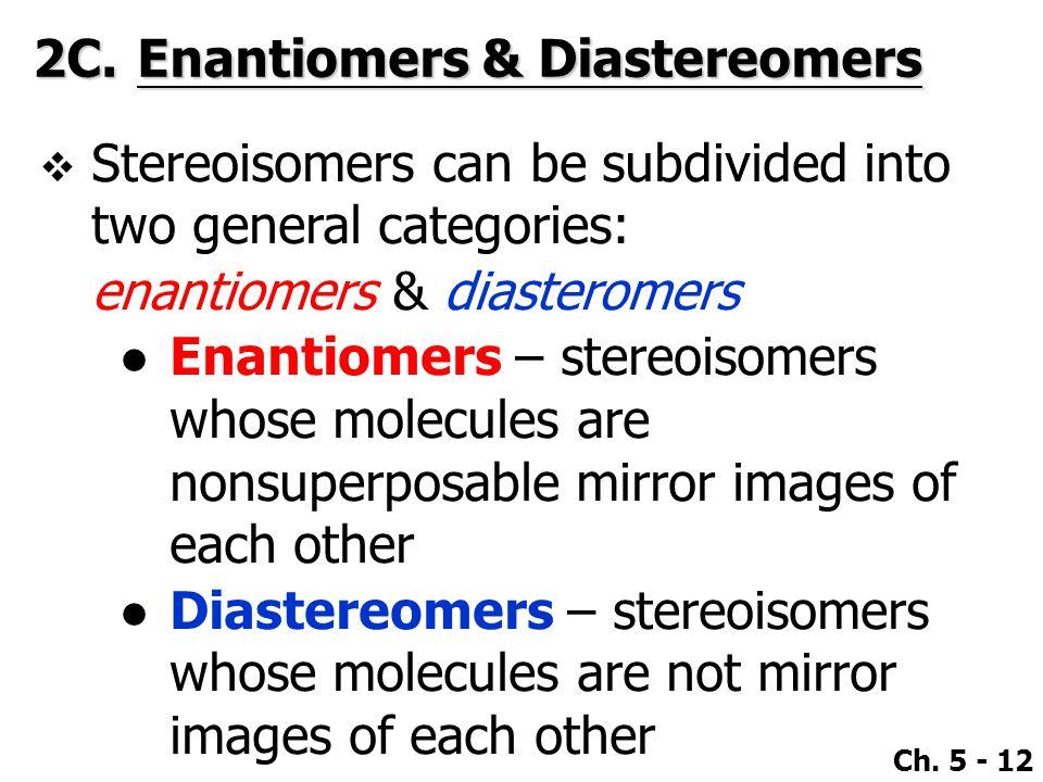 2C. Enantiomers & Diastereomers