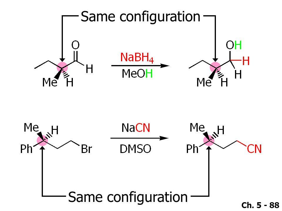 Same configuration Same configuration