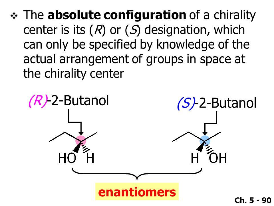 (R)-2-Butanol (S)-2-Butanol