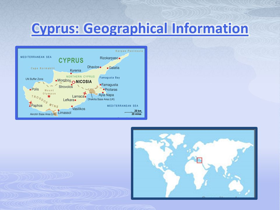 Cyprus: Geographical Information