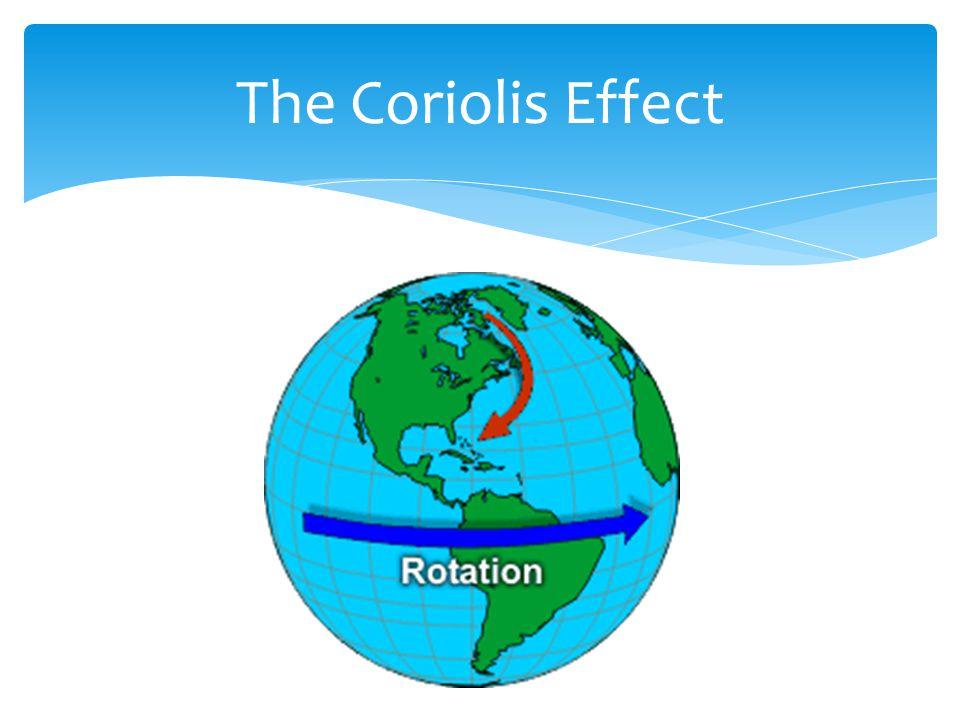 The Coriolis Effect http://www.srh.noaa.gov/jetstream/synoptic/wind.htm