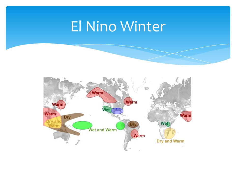 El Nino Winter http://www.srh.noaa.gov/crp/ n=education-elninoandlanina