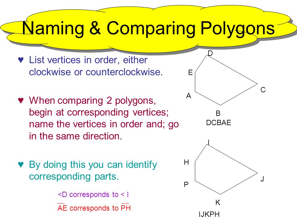 41 Congruent Polygons ppt download – Congruent Polygons Worksheet
