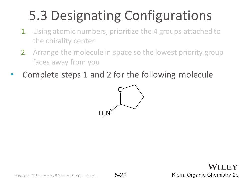 5.3 Designating Configurations