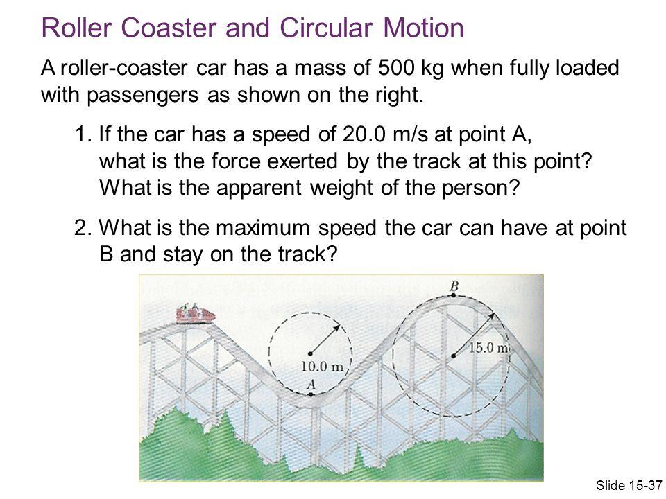 Roller Coaster and Circular Motion