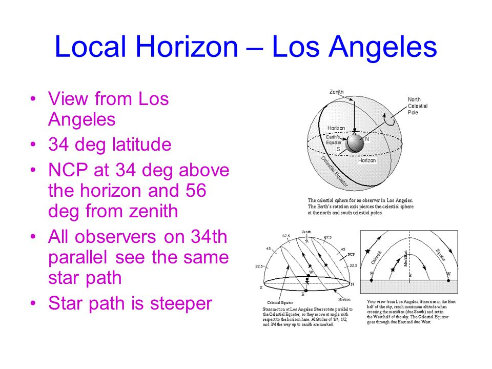 Local Horizon – Los Angeles
