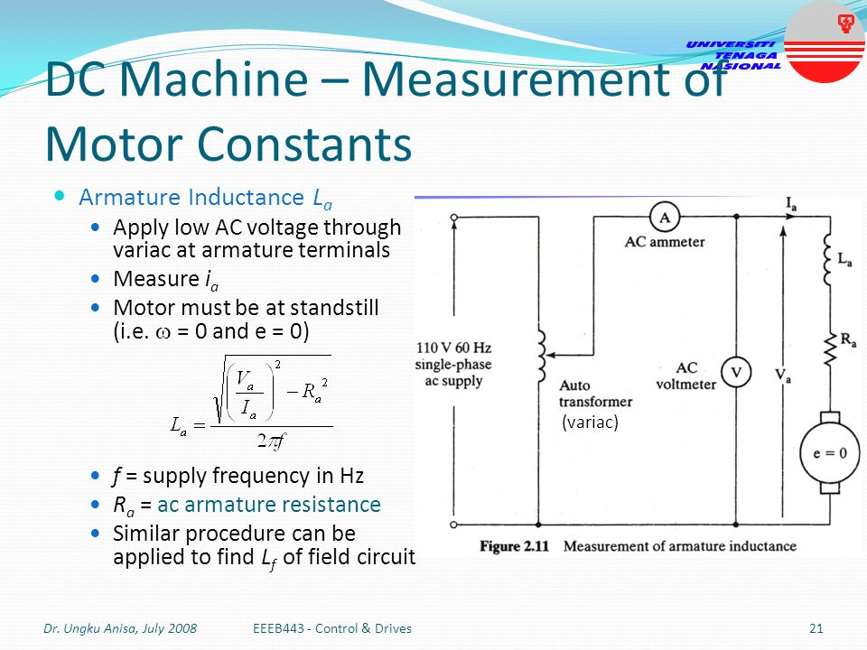 Eeeb443 Control Drives Modeling Of Dc Machines By Ppt