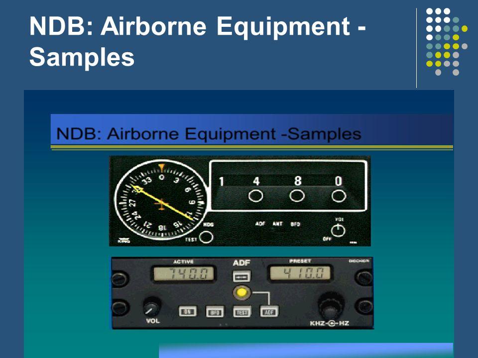 NDB: Airborne Equipment -Samples