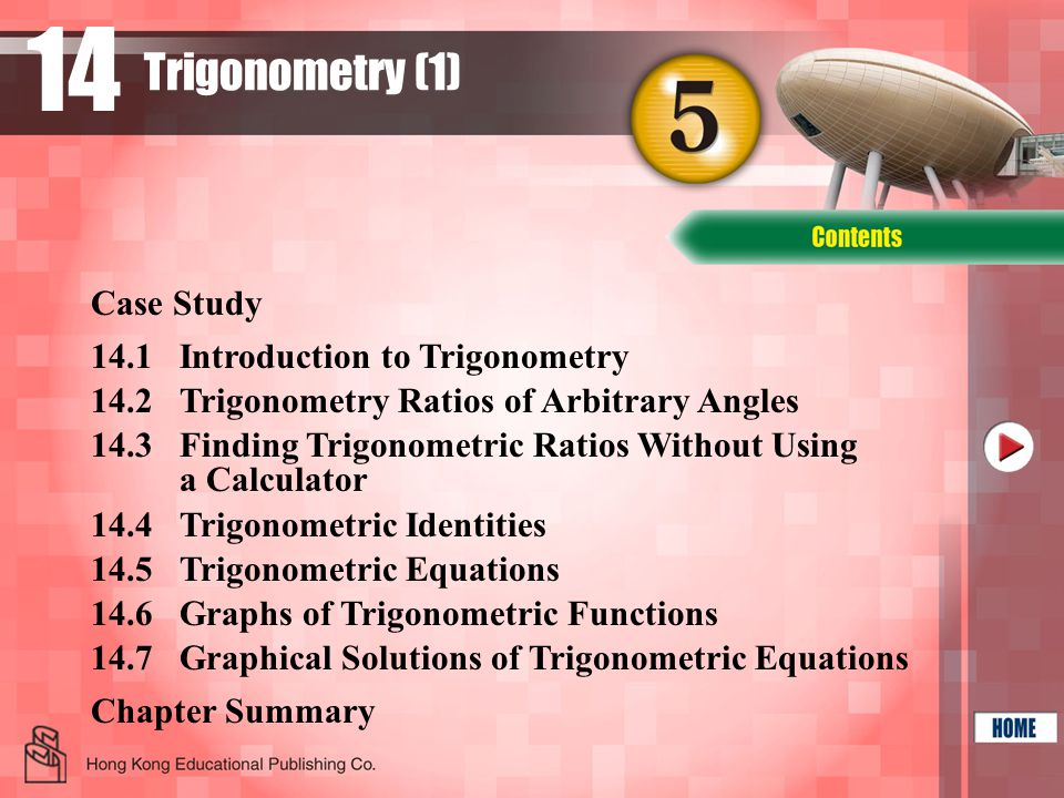 14 Trigonometry (1) Case Study 14.1 Introduction to Trigonometry