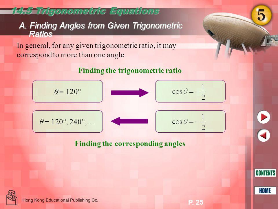 14.5 Trigonometric Equations