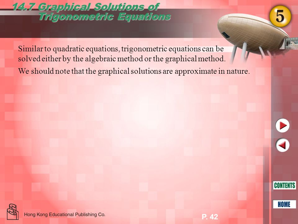 14.7 Graphical Solutions of Trigonometric Equations