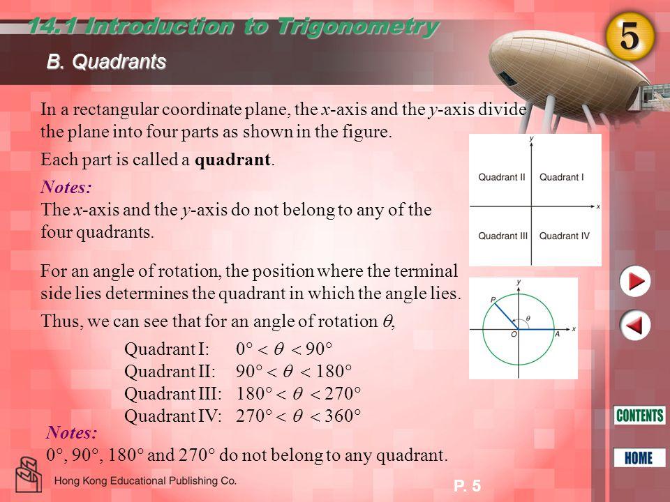 14.1 Introduction to Trigonometry