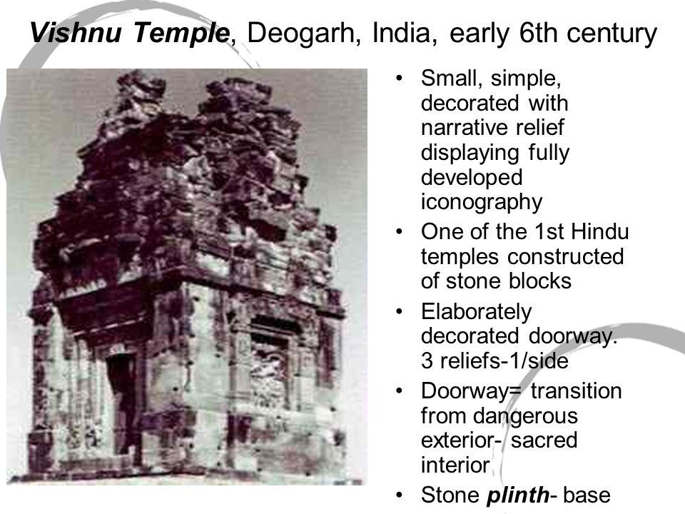 Vishnu Temple, Deogarh, India, early 6th century