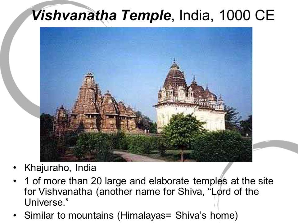Vishvanatha Temple, India, 1000 CE