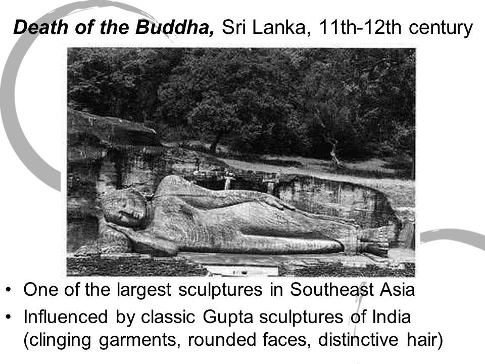 Death of the Buddha, Sri Lanka, 11th-12th century