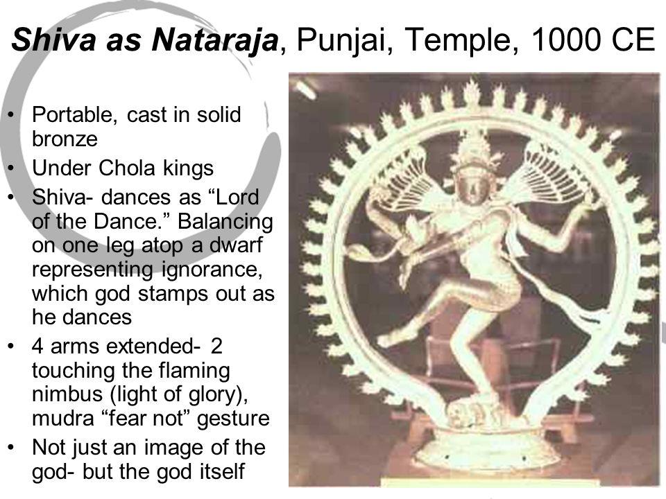 Shiva as Nataraja, Punjai, Temple, 1000 CE