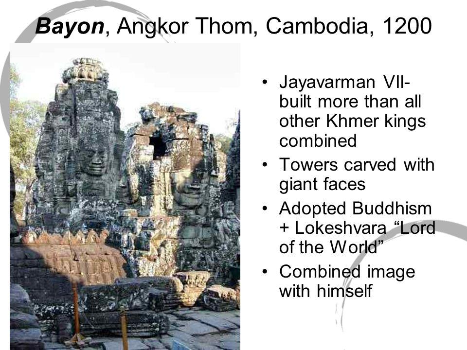 Bayon, Angkor Thom, Cambodia, 1200