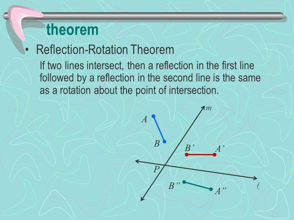 theorem Reflection-Rotation Theorem