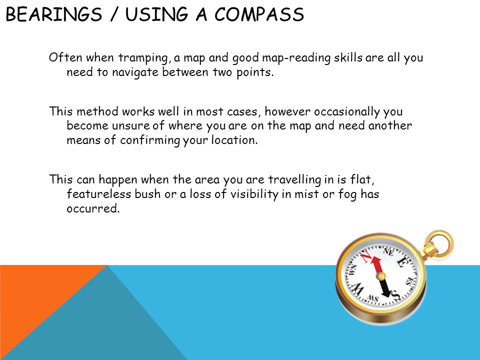 Bearings / Using a Compass