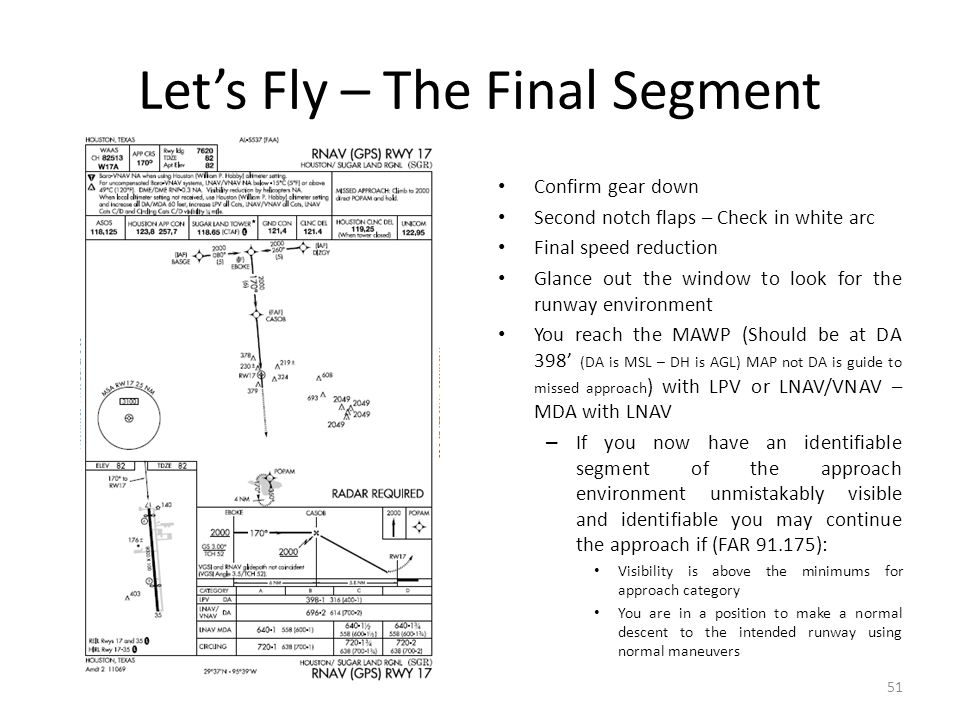 Let's Fly – The Final Segment