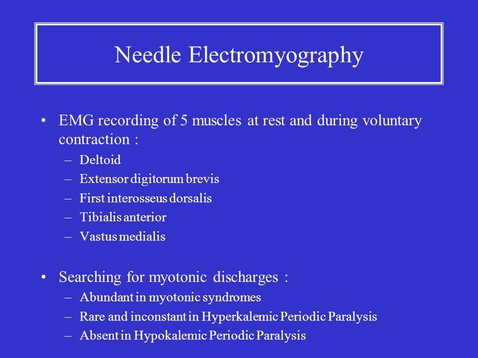 Needle Electromyography