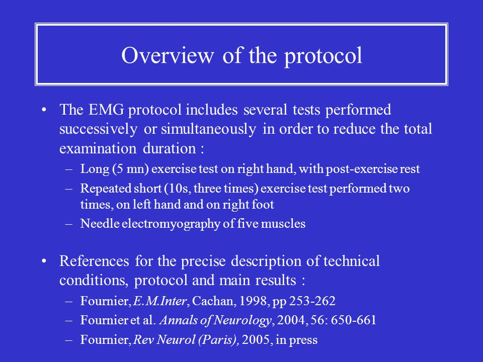 Overview of the protocol
