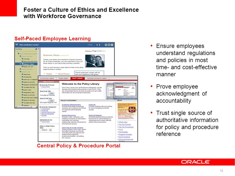 Foster a Culture of Ethics and Excellence with Workforce Governance