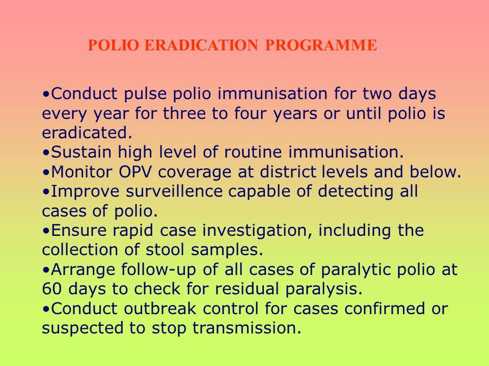 POLIO ERADICATION PROGRAMME