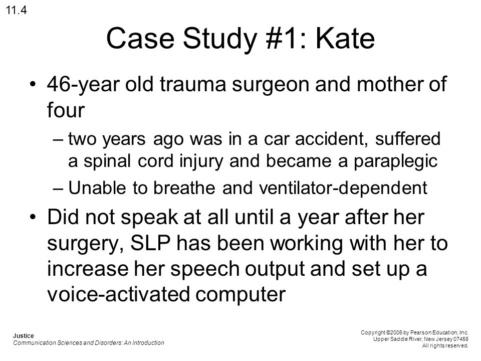 Case Study #1: Kate 46-year old trauma surgeon and mother of four