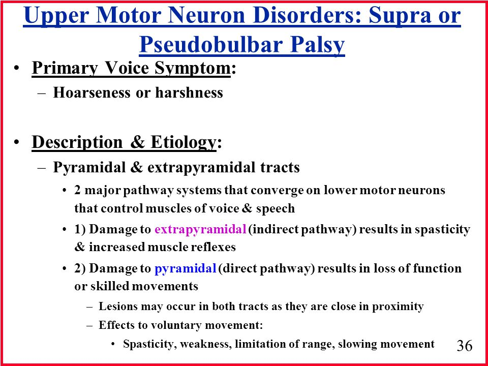 bulbar vs pseudobulbar palsy pdf