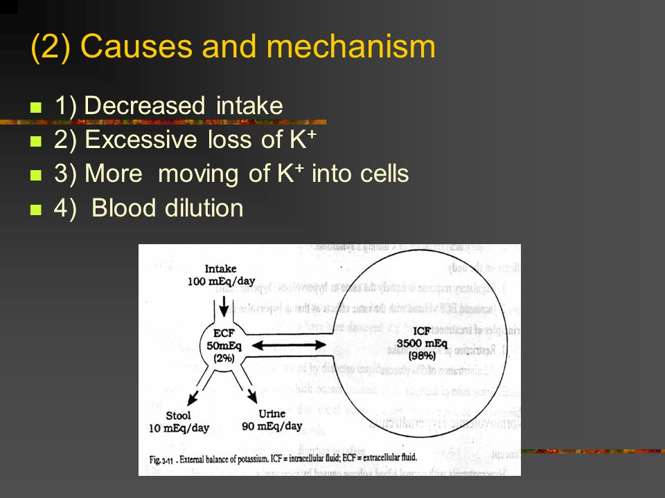 (2) Causes and mechanism