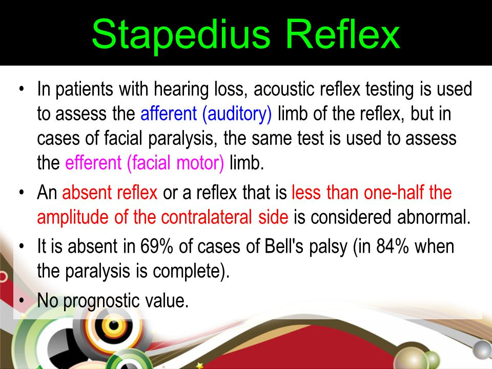 Stapedius Reflex
