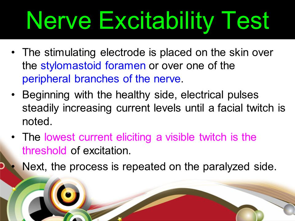 Nerve Excitability Test