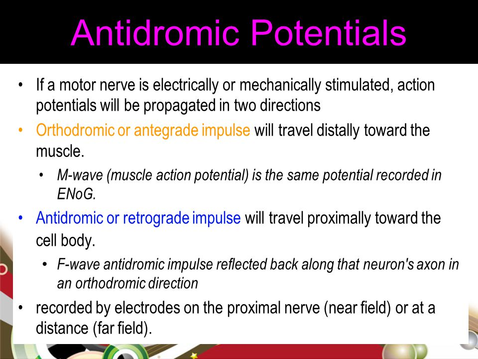 Antidromic Potentials