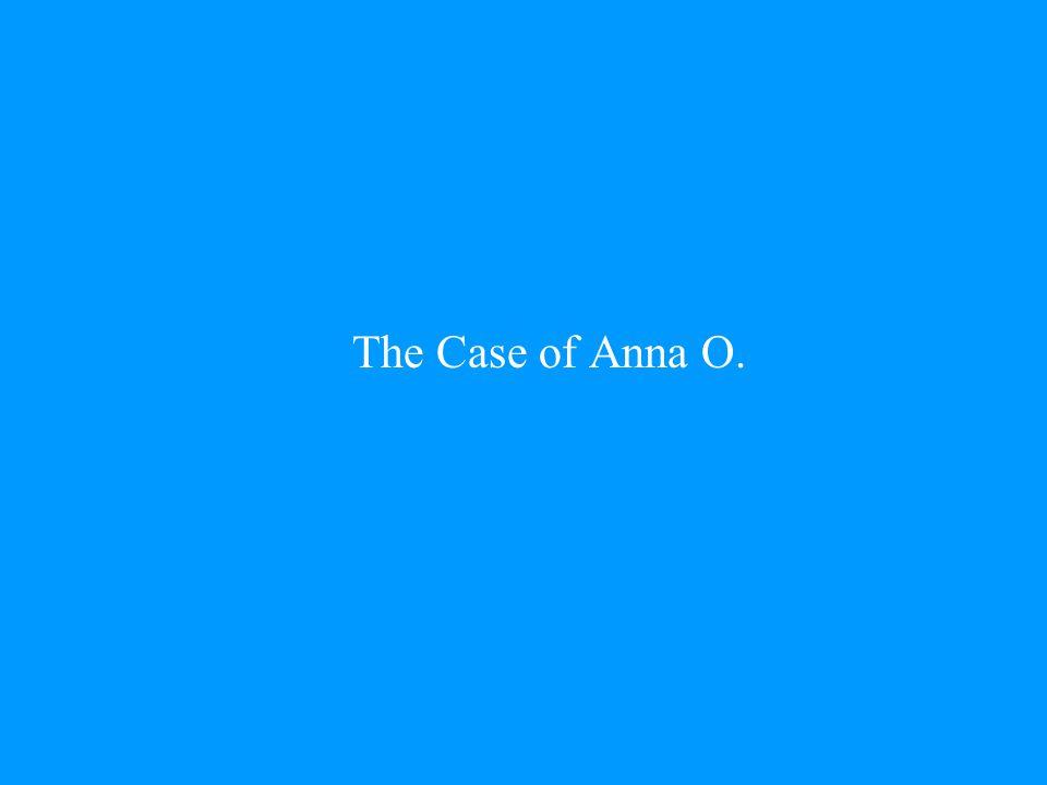 The Case of Anna O.