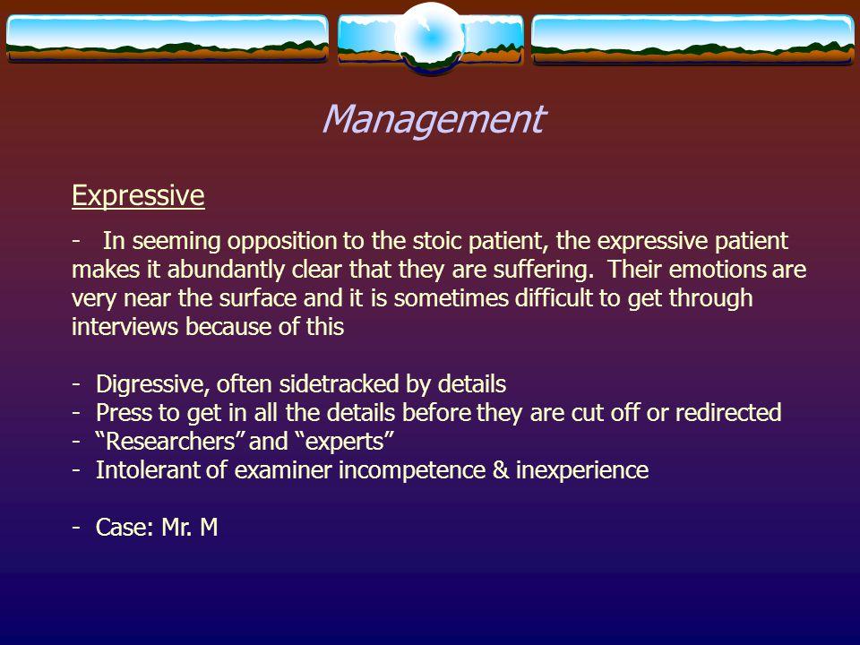Management Expressive