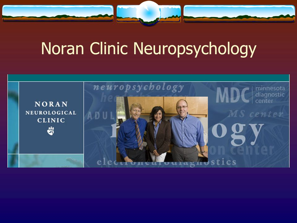 Noran Clinic Neuropsychology