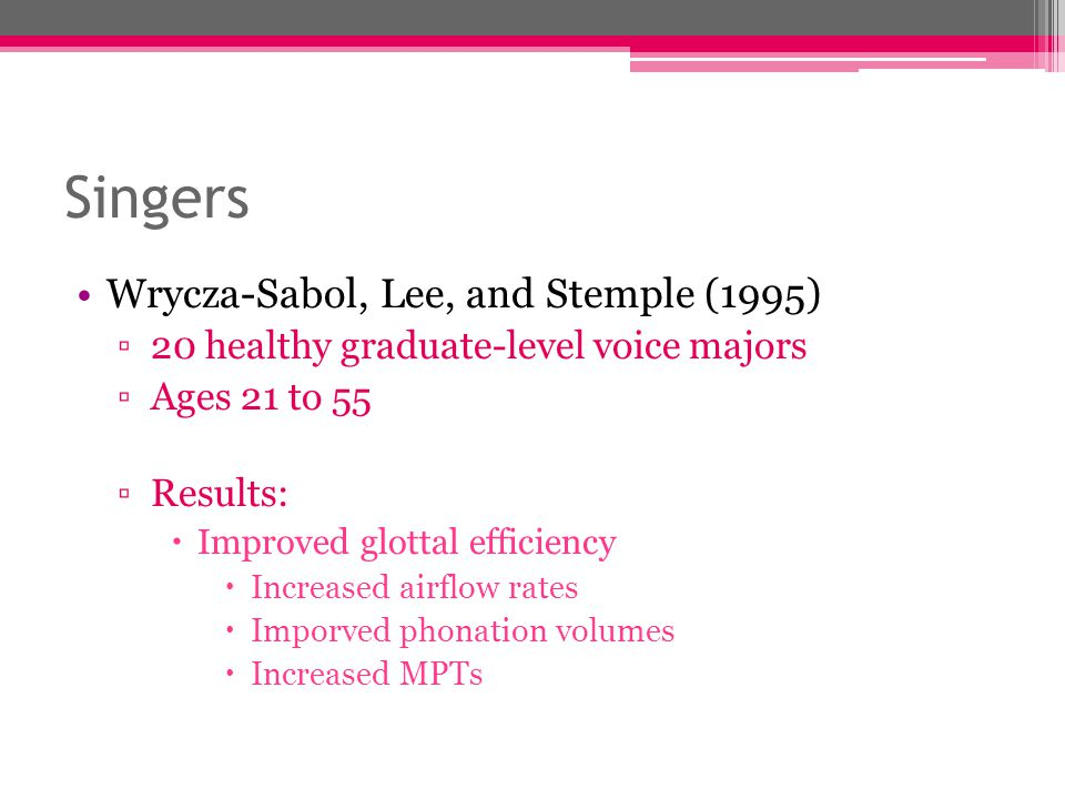 Singers Wrycza-Sabol, Lee, and Stemple (1995)