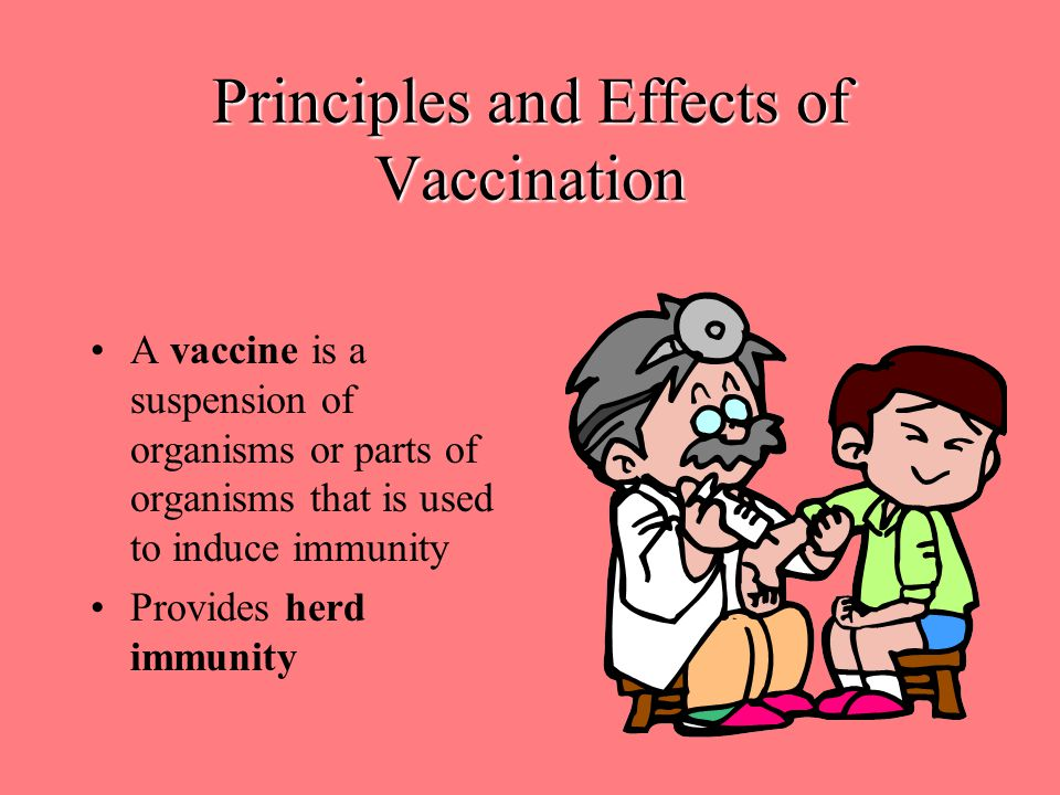 Principles and Effects of Vaccination