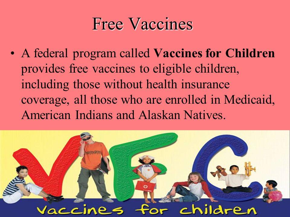 Free Vaccines