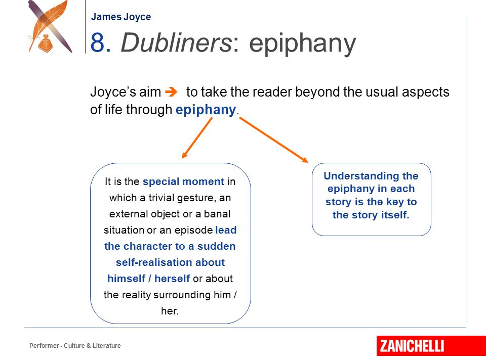 epiphanies in dubliners essay The boy in araby is described as a creature however, i feel that epiphanies are only held in high regard because they arise when we are in a state.