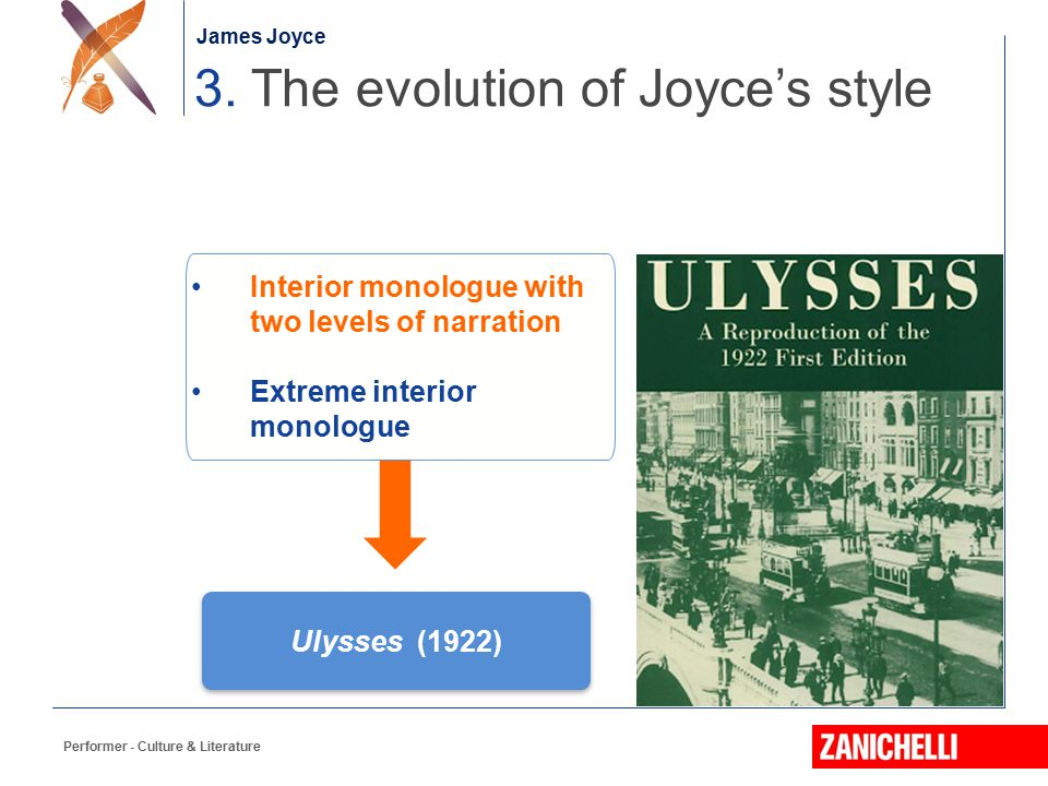 3. The evolution of Joyce's style