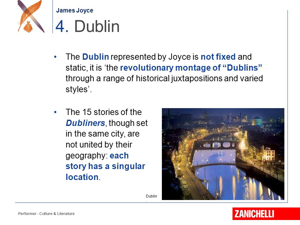 James Joyce 4. Dublin.