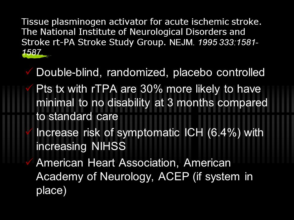 Double-blind, randomized, placebo controlled