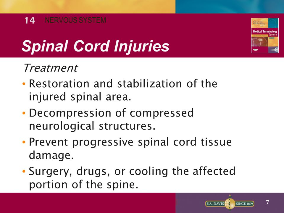 Spinal Cord Injuries Treatment