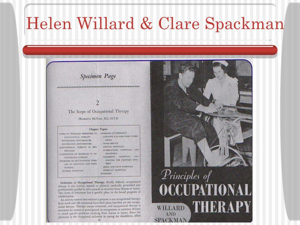 Helen Willard & Clare Spackman